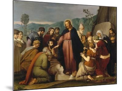 The Raising of Lazarus, 1808-Johann Friedrich Overbeck-Mounted Giclee Print
