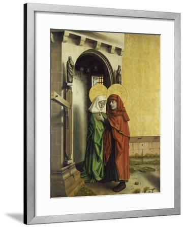 The Meeting of Anna and Joachim at the Golden Gate, C. 1440-Konrad Witz-Framed Giclee Print