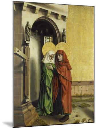 The Meeting of Anna and Joachim at the Golden Gate, C. 1440-Konrad Witz-Mounted Giclee Print