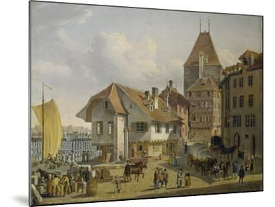 The Harbour of Basel-Konstantin Guise-Mounted Giclee Print