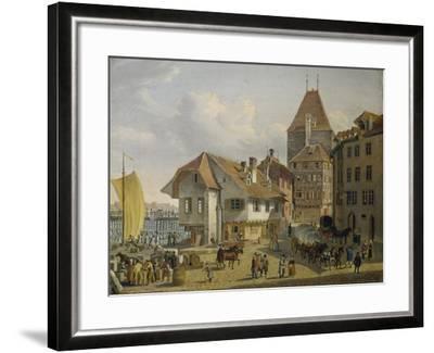 The Harbour of Basel-Konstantin Guise-Framed Giclee Print