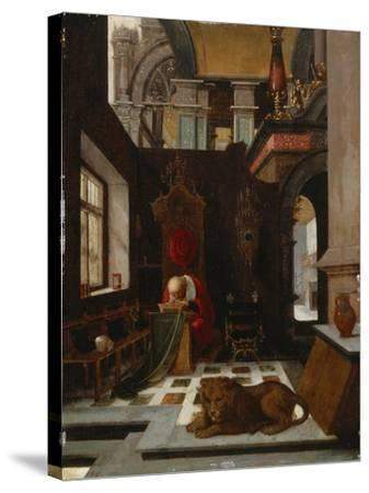 St. Jerome in His Study-Hendrick Steenwijk-Stretched Canvas Print