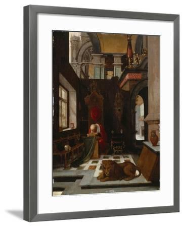 St. Jerome in His Study-Hendrick Steenwijk-Framed Giclee Print