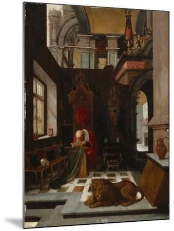 St. Jerome in His Study-Hendrick Steenwijk-Mounted Giclee Print