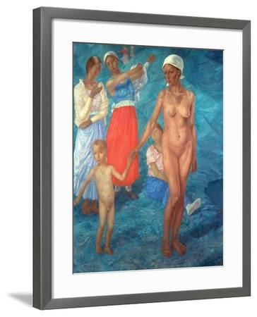 Morning, 1917-Kosjma Ssergej Petroff-Wodkin-Framed Giclee Print