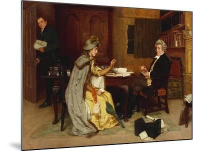 Her Lawyer, 1892-Frank Dadd-Mounted Giclee Print