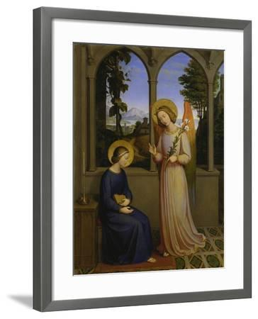 The Annunciation, 1828-Johann von Schraudolph-Framed Giclee Print
