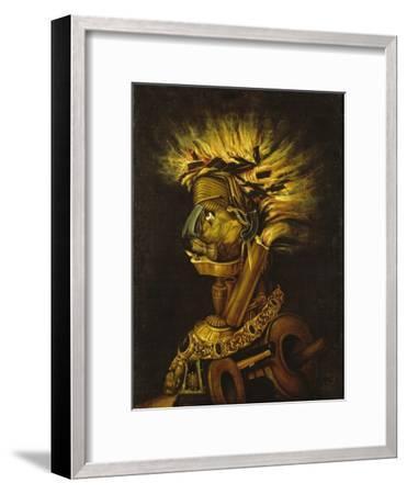 Fire-Giuseppe Arcimboldo-Framed Giclee Print
