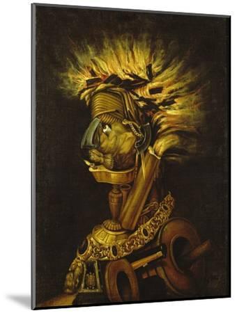 Fire-Giuseppe Arcimboldo-Mounted Giclee Print
