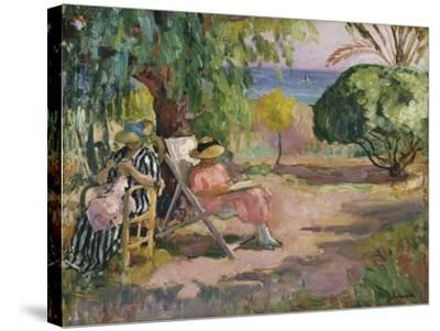 A Summer's Day-Henri Lebasque-Stretched Canvas Print