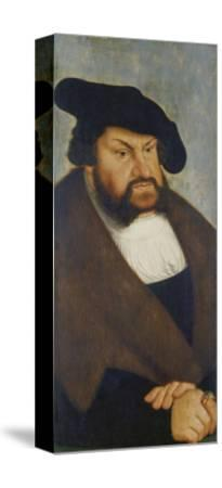 Kurfuerst Johann Der Bestaendige-Lucas Cranach the Elder-Stretched Canvas Print