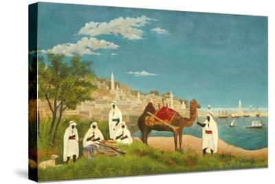 View of Algiers (Paysage D'Alger), 1880-Henri Rousseau-Stretched Canvas Print