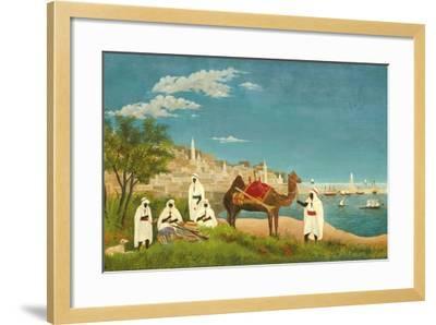 View of Algiers (Paysage D'Alger), 1880-Henri Rousseau-Framed Giclee Print
