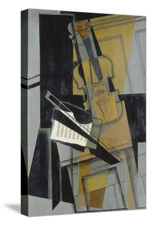 The Violin (Le Violon), 1916-Juan Gris-Stretched Canvas Print