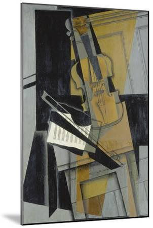 The Violin (Le Violon), 1916-Juan Gris-Mounted Giclee Print