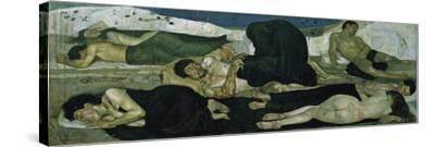 Night, 1890-Ferdinand Hodler-Stretched Canvas Print