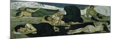 Night, 1890-Ferdinand Hodler-Mounted Giclee Print