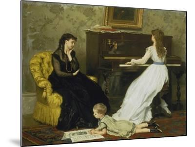 The Music Room-Gustave Léonhard de Jonghe-Mounted Giclee Print