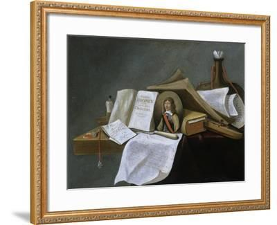 Vanitas Still-Life-Pietro da Cortona-Framed Giclee Print
