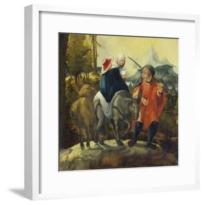 The Flight into Egypt, C. 1525-30-Wolf Huber-Framed Giclee Print