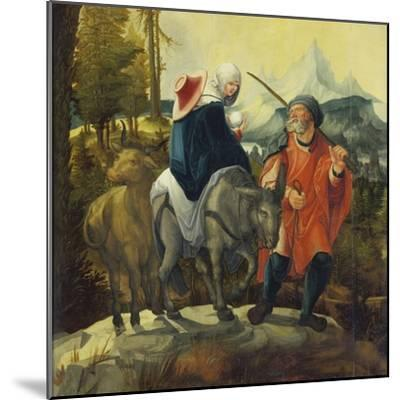 The Flight into Egypt, C. 1525-30-Wolf Huber-Mounted Giclee Print