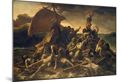 The Raft of the Medusa, 1818-19-Th?odore G?ricault-Mounted Giclee Print