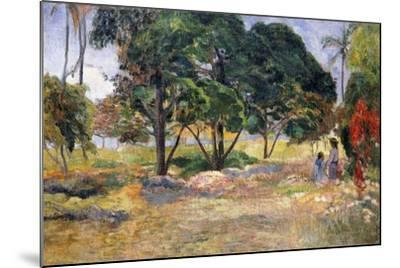 Landscape with Three Trees (Paysage Aux Trois Arbres), 1892-Paul Gauguin-Mounted Giclee Print