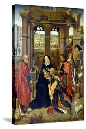The Adoration of the Magi--Stretched Canvas Print