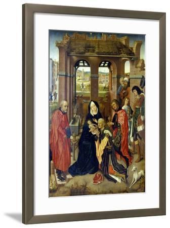The Adoration of the Magi--Framed Giclee Print