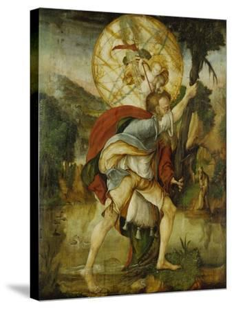 St, Christopher--Stretched Canvas Print