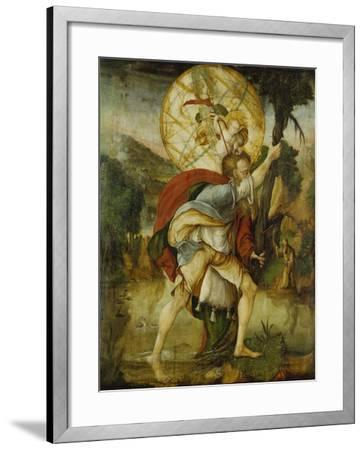 St, Christopher--Framed Giclee Print