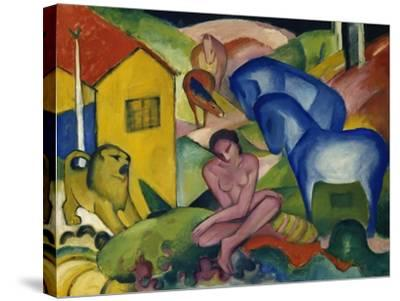 The Dream, 1912-Franz Marc-Stretched Canvas Print