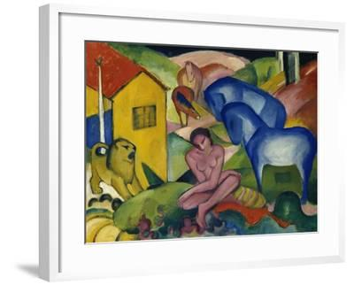 The Dream, 1912-Franz Marc-Framed Giclee Print