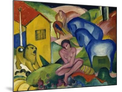 The Dream, 1912-Franz Marc-Mounted Giclee Print