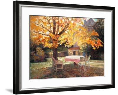 Autumn Garden-Victor Charreton-Framed Giclee Print