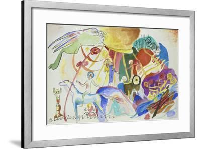 Komposition Mit Heiligen, 1911--Framed Giclee Print