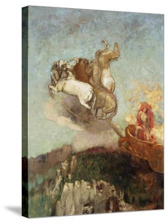 The Chariot of Apollo, 1907-08-Odilon Redon-Stretched Canvas Print