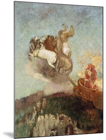The Chariot of Apollo, 1907-08-Odilon Redon-Mounted Giclee Print