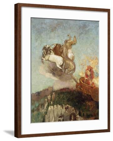 The Chariot of Apollo, 1907-08-Odilon Redon-Framed Giclee Print