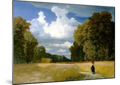 Harvest Time-Robert Z?nd-Mounted Giclee Print