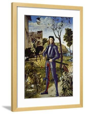 Portrait of a Knight, 1510-Vittore Carpaccio-Framed Giclee Print