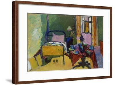 Schlafzimmer in Der Ainmillerstrasse 36, 1909--Framed Giclee Print