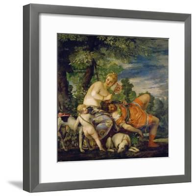 Venus and Adonis-Paolo Uccello-Framed Giclee Print