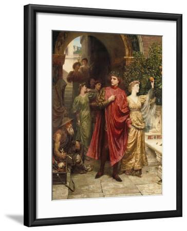 The Symbol - 'Is it Nothing to You, All Ye That Pass By', 1881-Sir John Lavery-Framed Giclee Print