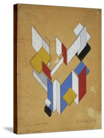 Construction De L'Espace, Temps III, 1929-Theo van Rysselberghe-Stretched Canvas Print