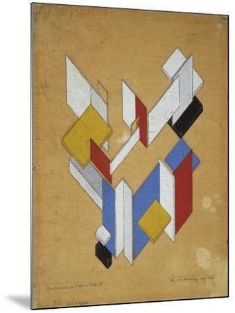Construction De L'Espace, Temps III, 1929-Theo van Rysselberghe-Mounted Giclee Print