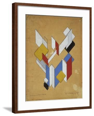 Construction De L'Espace, Temps III, 1929-Theo van Rysselberghe-Framed Giclee Print