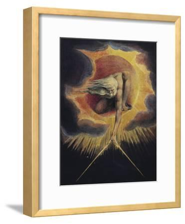 The Ancient of Days, 1794-William Blake-Framed Premium Giclee Print