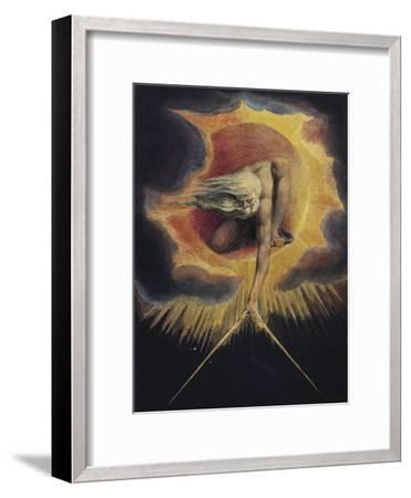 The Ancient of Days, 1794-William Blake-Framed Giclee Print