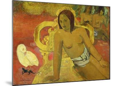 Vairumati, 1897-Paul Gauguin-Mounted Giclee Print